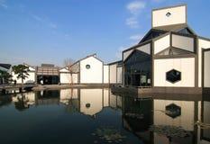Het museum van Suzhou Stock Foto's