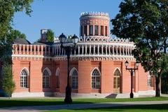 Het museum van Tsaritsino Royalty-vrije Stock Foto's