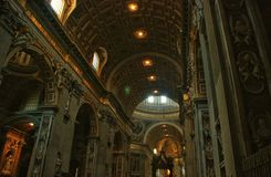 Het museum van Vatikaan royalty-vrije stock afbeelding