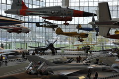 Het museum van Vlucht, Seattle Stock Foto