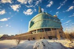 Het museum van Winnipeg stock afbeelding