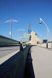 Het Museum van Winnipeg van Rechten van de mens Stock Foto