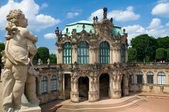 Het Museum van Zwinger Stock Foto's