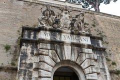Het Museumingang van Vatikaan royalty-vrije stock foto