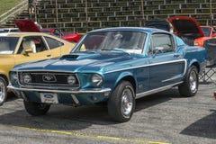 het mustang van 1968 fastback Stock Foto's