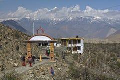 Het Mustang van Nepal Himalayagebergte royalty-vrije stock afbeelding