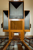 Het muzikale orgaan van de instrumentenpijp Royalty-vrije Stock Afbeelding