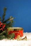 Het muzikale Stilleven van Kerstmis Stock Afbeelding