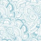 Het naadloze abstracte bloemenpatroon van het de zomerthema Stock Foto