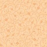 Het naadloze abstracte hout sneed bloemenornament Royalty-vrije Stock Afbeeldingen