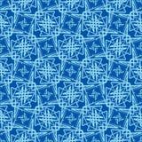 Het naadloze Abstracte Patroon van het Behang Stock Foto