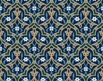 Het Naadloze Arabische Patroon van Ahiar Royalty-vrije Stock Foto's