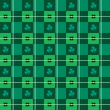 Het naadloze argyle-Plaid VectorPatroon van de Kunst stock illustratie