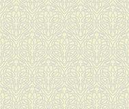 Het naadloze behang van Art Nouveau Royalty-vrije Stock Afbeelding