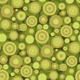 Het naadloze Behang van Cirkels Royalty-vrije Stock Afbeelding