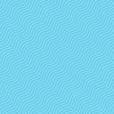 Het naadloze blauw van de golftegel Royalty-vrije Stock Afbeelding