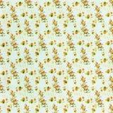 Het naadloze bloemenbehang van het patrooncanvas Stock Afbeelding