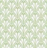 Het naadloze Bloemenpatroon van Arabesque Art Deco Style Background Vector Abstracte Bloemtextuur royalty-vrije illustratie