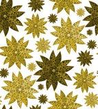 Het naadloze BloemenPatroon van het Behang stock illustratie
