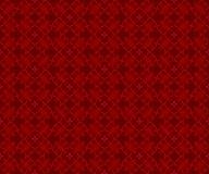 Het naadloze Chinese patroon van de stijl traditionele rode meetkunde Royalty-vrije Illustratie