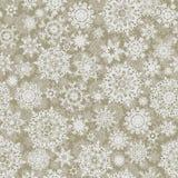 Het naadloze elegante patroon van de Kerstmistextuur. EPS 8 Royalty-vrije Stock Fotografie