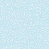 Het naadloze Gedetailleerde Patroon van het Behang stock illustratie