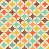 Het naadloze geometrische patroon van de puntentextuur Stock Fotografie