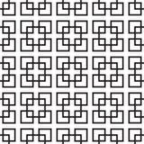 Het naadloze Geometrische Vierkanten Overlappen Royalty-vrije Stock Fotografie