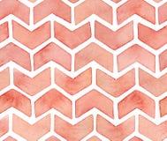 Het naadloze herhaalde patroon van leuke artistieke decoratieve sier zigzagde pijlen of controletekensymbolen stock illustratie