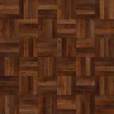 Het naadloze houten bruine schaak van de parkettextuur Royalty-vrije Stock Afbeeldingen