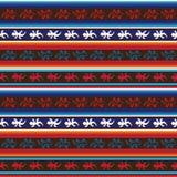 Het naadloze Mexicaanse patroon van de hagedisstof stock afbeelding