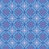Het naadloze moderne heldere patroon van de mozaïekcaleidoscoop Royalty-vrije Stock Foto's