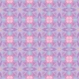 Het naadloze moderne heldere patroon van de mozaïekcaleidoscoop Stock Foto