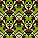Het naadloze ontwerp van de de giftomslag van patroonchrisrmas Stock Afbeelding