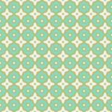 Het naadloze ontwerp van de patroonkeramische tegel Royalty-vrije Stock Fotografie
