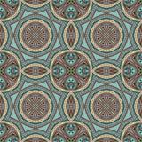 Het naadloze ontwerp van Paisley, etnisch stammenpatroon, stof Stock Foto