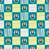 Het naadloze ontwerp van het shweshwepatroon Stock Afbeelding