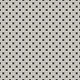 Het naadloze patroon, geometrische textuur, maakt kruisen glad Stock Fotografie