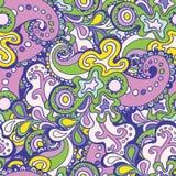 Het naadloze patroon kan voor behang worden gebruikt, vult het patroon, Web p Stock Fotografie