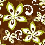 Het naadloze Patroon van ALOHA Hawaï Stock Afbeelding