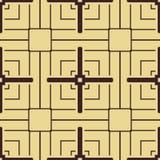 Het naadloze patroon van het art deco stock illustratie
