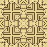 Het naadloze patroon van het art deco royalty-vrije illustratie