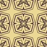 Het naadloze patroon van het art deco Royalty-vrije Stock Fotografie