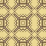 Het naadloze patroon van het art deco Royalty-vrije Stock Foto's