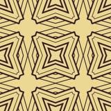 Het naadloze patroon van het art deco Royalty-vrije Stock Foto