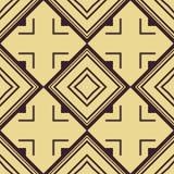 Het naadloze patroon van het art deco Stock Afbeelding
