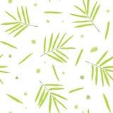 Het naadloze patroon van het bamboe Royalty-vrije Stock Foto's