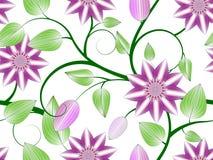 Het naadloze patroon van bloemen Royalty-vrije Stock Fotografie