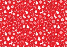 Het naadloze patroon van Christmass stock illustratie