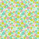 Het naadloze patroon van Daisy vector illustratie